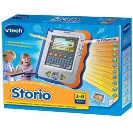 Hasbro - VTech Storio Console Blu + Cartuccia, italiano
