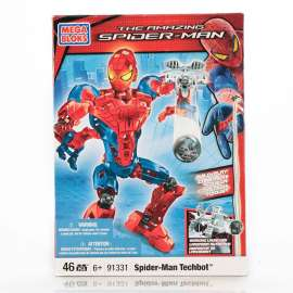 Mega Bloks - The Amazing Spider-man Spiderman Techbot - 91331- 45 pezzi