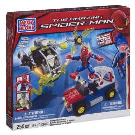 MEGA BLOCKS - The Amazing Spider-man Bridge Showdon - 91346 - 250 pezzi