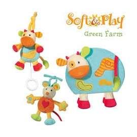 BREVI SOFT & PLAY GREEN FARM BOX