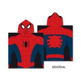 MARVEL Poncho SpiderMan - Uomo Ragno - Prodotto originale - 60x120 cm
