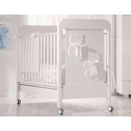 BABY EXPERT COLLEZIONE BIANCA LUNA LETTINO + MATERASSO IN OMAGGIO