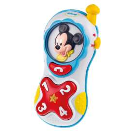 CLEMENTONI - Disney Mickey Mouse Baby Lights And Sounds Mobile Phone - 14838