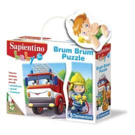 CLEMENTONI -  Baby Sapientino Brum Brum Puzzle - 12966