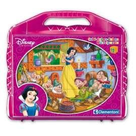 CLEMENTONI -  Puzzle - Biancaneve - Cubi 12 pz - 41146