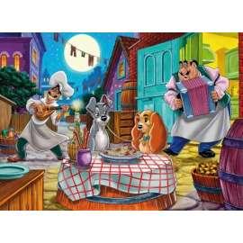 CLEMENTONI -  Puzzle  - Lilli e il Vagabondo: Romantic Story - 60 pezzi -  26870