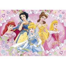 CLEMENTONI -  Puzzle - Princess - I love to Sparkle - Jewels Puzzle - 20018