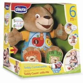 CHICCO - Teddy Conta con Me, Pupazzo Parlante Parlante Italiano e Inglese -  60014