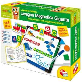 LISCIANI GIOCHI -  Giochi Carotina Lavagnona Magnetica - 35182