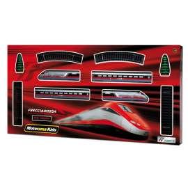 MOTORAMA - Mac Due - Treno Freccia Rossa a Batteria, Scala 1:87 - 497384