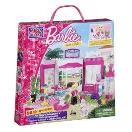 MEGA BLOKS - Barbie e Il Negozio di Animali, 98 Pezzi - 80224