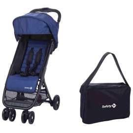 Passeggino Bimbo Ultra Compatto Teeny con borsa Blu da Cappelliera Safety 1st