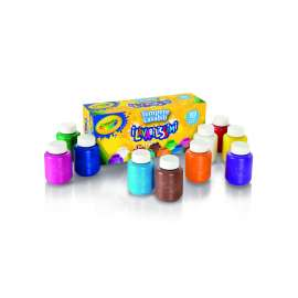 10 tempere lavabili crayola